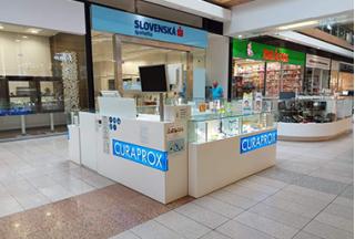 CURAPROX Smile Shop, Europa Shopping Center Banská Bystrica