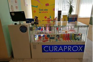 CURAPROX Smile Shop, Klinika Stomatológie LFUK a OUSA Bratislava